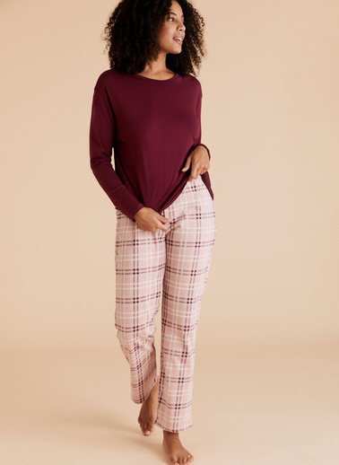 Marks & Spencer Pijama Takım Mor